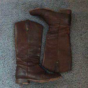 Frye Melissa Button Tall Riding Boot - Women's